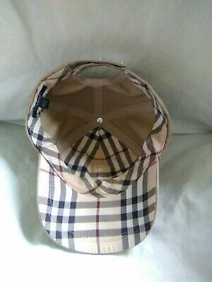 ed6ac80af43 BURBERRY LONDON BASEBALL Cap Hat Adjustable Strap One Size -  40.00 ...