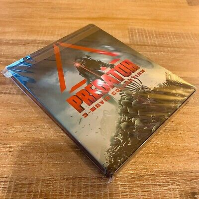 Predator Collection  (Limited Edition Steelbook) - Blu-ray Edition