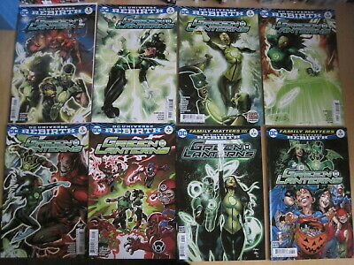 Green Lanterns : Complete Run 1,2,3,4,5,6,7,8,9,10,11-17. Dc Rebirth 2016 Series