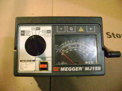 Biddle Instruments Megger Crank Power Insulation And Continuity Tester Model Mj1