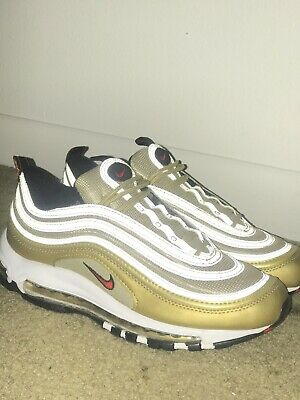 3e09c4e01e Nike Air Max 97 OG Metallic Gold Italian Flag Italy Gold AJ8056-700  Authentic