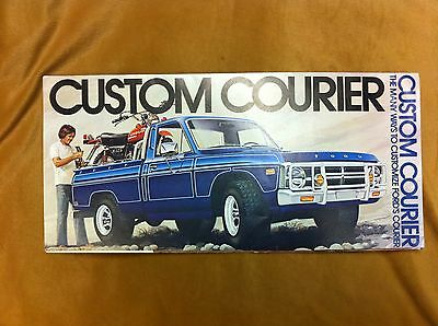 1970's Ford Custom Courier truck,Ways to Customize Ford's Courier,sales brochure