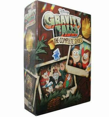 Gravity Falls: The Complete Series DVD 2018 7-Disc Box Set Collector's Edition