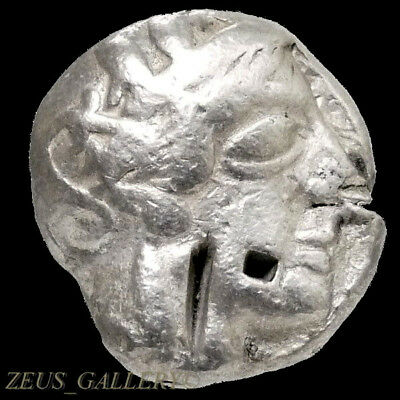 ATHENA / Owl ATTIC Tetradrachm Athens Greece 440 BC Ancient Greek Silver Coin