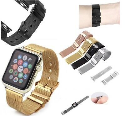 Magnetic Milanese watch Band iWatch Strap for Apple Watch Sport Series 4/3/2/1