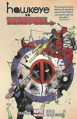 HAWKEYE VS DEADPOOL GRAPHIC NOVEL New Paperback Collects 5 Part Series