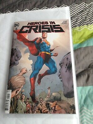 Heroes In Crisis Issue #5 DC Comics 2018 Brand New