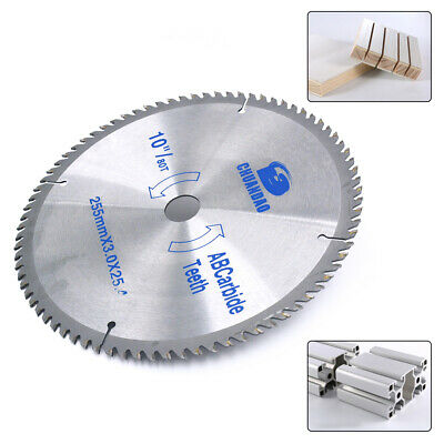 10'' 80Teeth Carbide Precision Finishing Saw Blade For Wood And Wood Composites