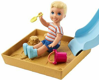 Barbie Skipper Babysitters Inc. Friend Doll and Playground Playset Gift Kids NEW