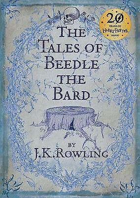 The Tales of Beedle the Bard, Standard Edition by J. K. Rowling, NEW Book, (Hard