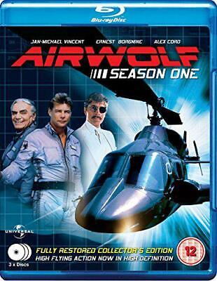 Airwolf - Complete Season 1 (3 Disc Box Set) [Blu-ray], DVD, New, FREE & Fast De