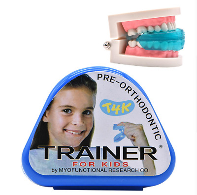 1pc T4K Children Dental Tooth Orthodontic Appliance Trainer Kids Alignment Brace