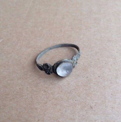 Ancient Roman Medieval Copper Ring
