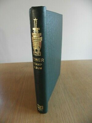 Stanley Gibbons SG Springback Tower Stamp Album Cover only, green, no pages