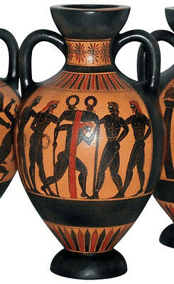 Ancient Greek Panathenaic Amphora Vase Museum Replica Reproduction