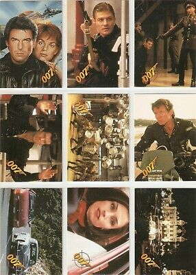 James Bond GOLDENEYE Base trading card set w/18 inserts and 1 promo Graffiti '95