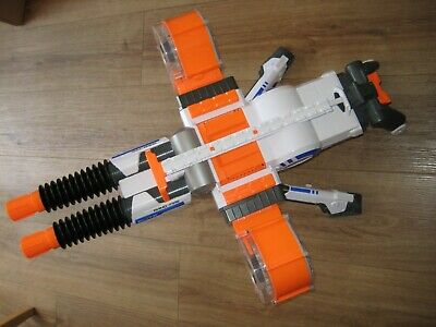 Nerf N-Strike Elite Rhino Fire Blaster Gun Excellent Condition