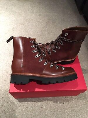 cozy fresh exclusive range wholesale outlet GRENSON LEATHER & Suede Brady Hiking Boots. Bnib 7Uk Mens ...