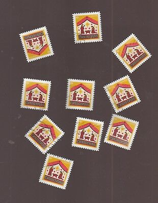 Canada 2018 Christmas Creche 10  Used Stamps