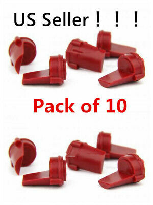 Accu Wedge .223 5.56mm 10 PCS RED Rubber