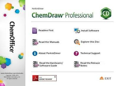 PerkinElmer ChemOffice Professional 16 Link + Key Email Delivery