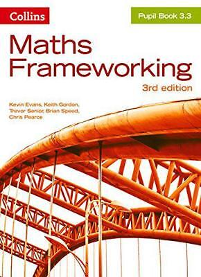 Maths Frameworking - Pupil Book 3.3 by Pearce, Chris, Speed, Brian, Senior, Trev
