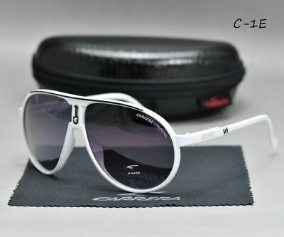 New Fashion Men & Women's Retro Sunglasses Unisex Matte Frame Carrera Glasses