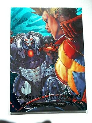 2018 Marvel Masterpieces Battle Spectra Gems #BS-13  /99