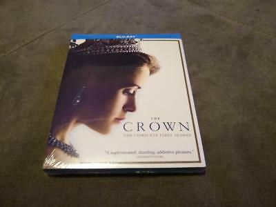 The Crown: The Complete Season 1 (Blu-ray 4 Disc Set) Brand NEW w/ Slip Cover