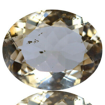 3.65 Ct Stunning Rare Unheated Best Lustrous Yellow Scopalite !