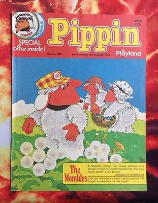 Pippin Comic 19 August 1983.  No.882. Nr Mint.  Unread Unsold Newsagents Stock.
