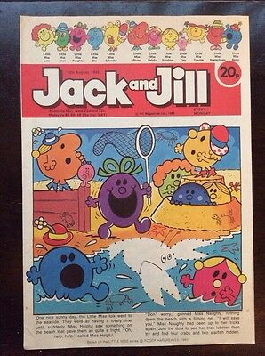 Jack And Jill Comic 13 August 1983 Vf+/nr Mint.  Unread Unsold Newsagents Stock.