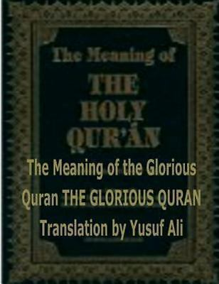 The Meaning of the Holy Quran Abdullah Yusuf Ali Paperback