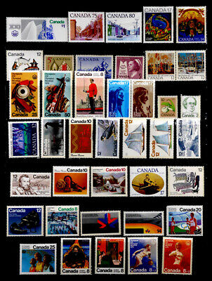 Canada: 1960's-70's Unused Stamp Collection