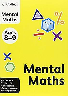 Collins Mental Maths: Ages 8-9 (Collins Practice), Not Known, Used; Good Book