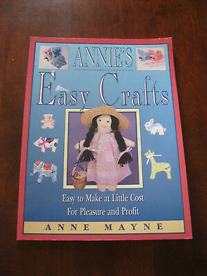 Annie's Easy Crafts: Anne Mayne: 1994: Easy to make at Little Cost: :Preloved