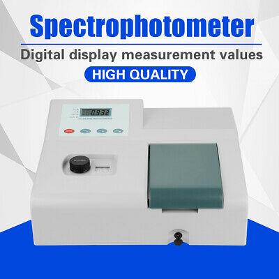 Visible UV Spectrophotometer 721 Lab Equipment 350-1020nm Tungsten Lamp 220V