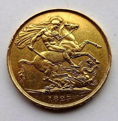 George IV 1823 Gold £2 Sovereign EF