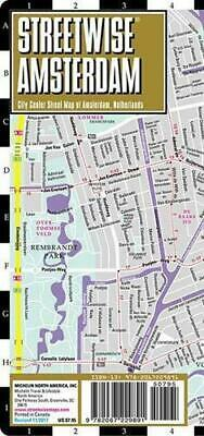 Streetwise Amsterdam Map - Laminated City Center Street Map of Amsterdam, Nether