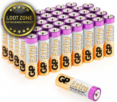 AA Batteries Pack of 40-1.5V / Mignon / LR06 / MN1500/ AM3 by GP Extra...