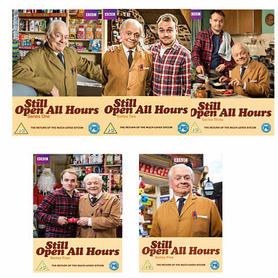 Still Open all Hours Series 1, 2, 3, 4, 5 + 3 Christmas Special DVD R4 New