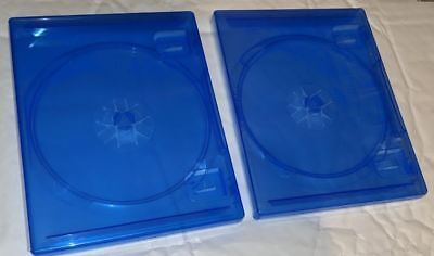 2 x OFFICIAL PS4 Replacement Game Cases Condition extra CASES Sony Playstation 4