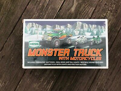 HESS 2007 Monster Truck with Motorcycles Brand New In Original Box