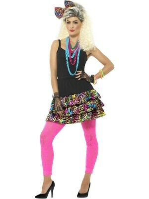 80er Party Set Neon Stil Damen Kostüm Eur 2449 Picclick De