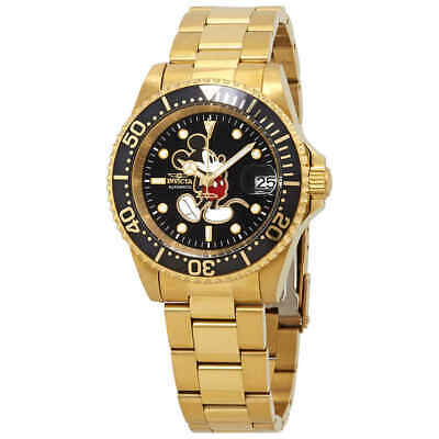 Invicta Disney Limited Edition Automatic Black Dial Men's Watch 25107