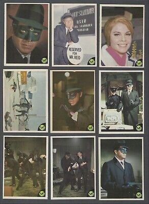 1966 Donruss Green Hornet Trading Cards Complete Set of 44 With Wrapper