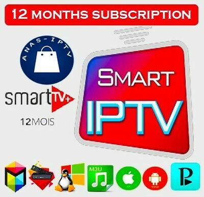 iptv Subscription 1Year Mag Android smart TV m3u world iptv Europe Usa Latino AR