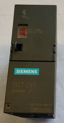 * SIEMENS SIMATIC S7 Sitop Power 2 6EP1 331-1SL11 E-Stand:02 Power Supply 24VDC