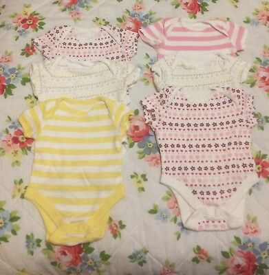 Bundle of Baby girls clothes 12 items up to 1month F&F from Tesco
