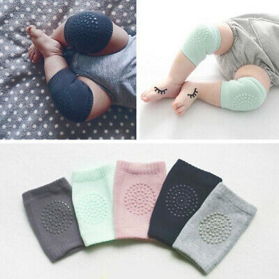 Newborn Infant Baby Elbow Knee Protective Sock Pads Kneecaps Crawling Protector